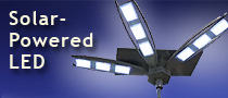 Eclipse LED street lamp